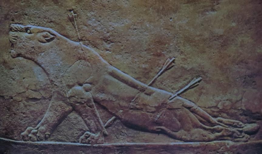Assyrian art ars artistic adventure of mankind