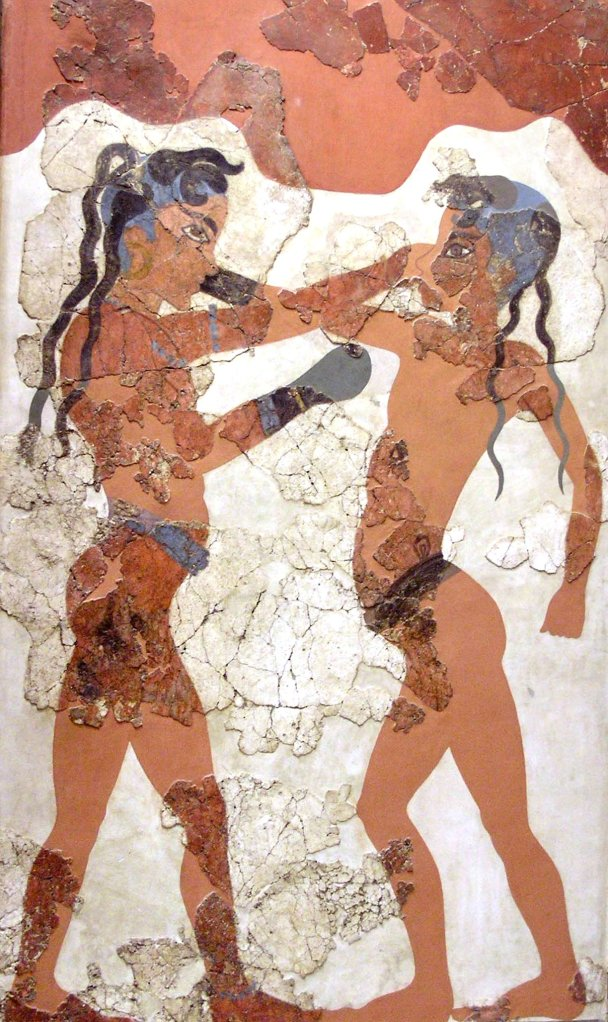 the art form designed just by any minoan world was first created