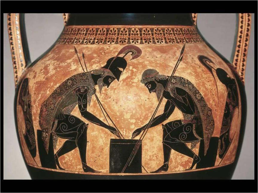 Archaic Greek Art After The Greco Persian Wars Painting