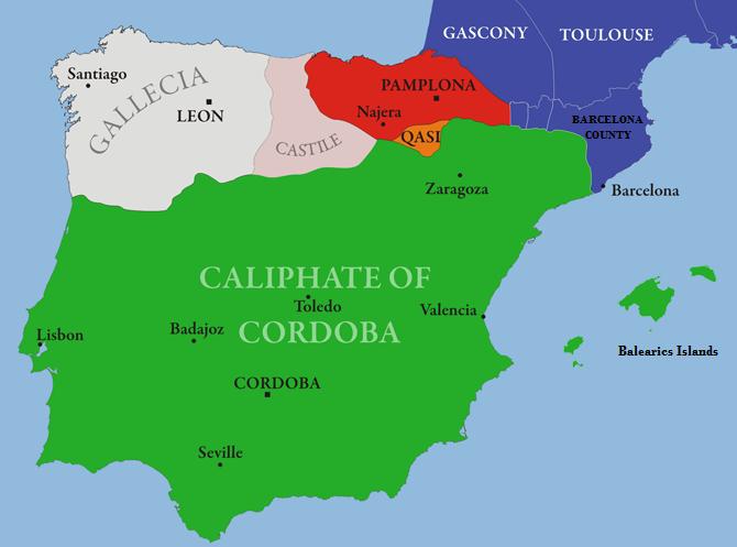 James l y el Reino de Valencia - Página 4 Mapa-al-andalus