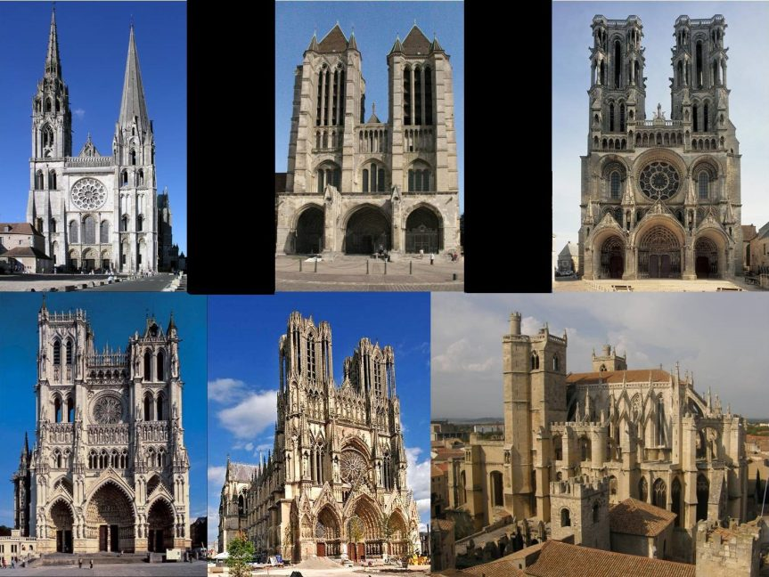French Gothic Cathedrals ArS Artistic Adventure Of Mankind