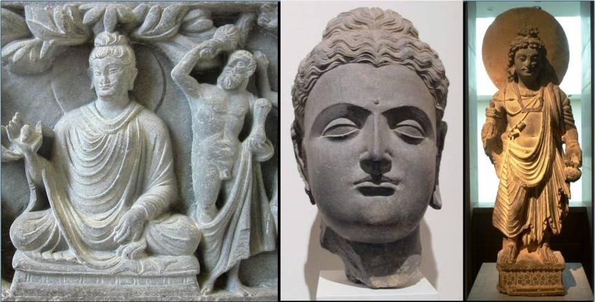 Greco Buddhist Art Ars Artistic Adventure Of Mankind