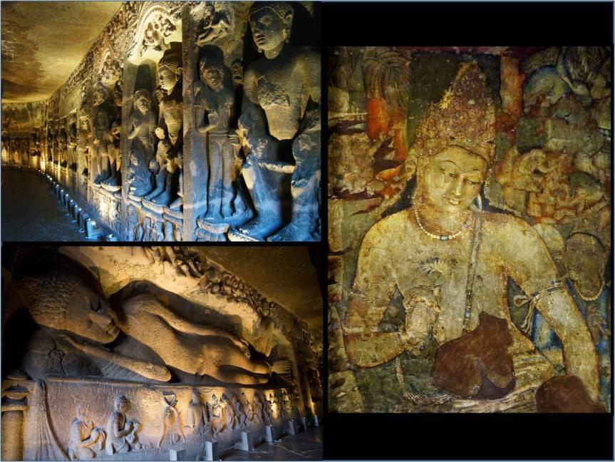 Ajanta Cave Paintings Ars Artistic Adventure Of Mankind